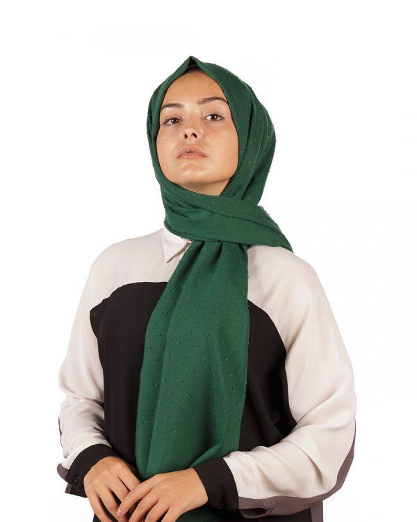 Yeşil Pıtpıt Şal